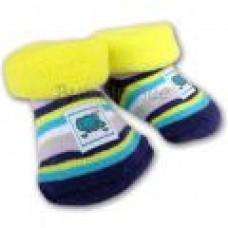 Bumble Bee - Terry Socks (Elephant)