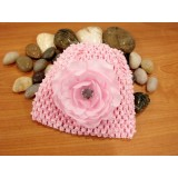 Bumble Bee - Crochet Hat *Light Pink*