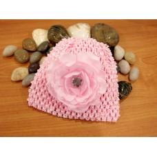Bumble Bee - Crochet Hat *Light Pink*