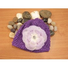Bumble Bee - Crochet Hat *Lavender*