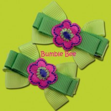 Bumble Bee - Hair Clips (HB0044)