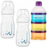 Bebe Confort - *Premium* Natural Comfort 240ML (2 pc )+Milk Dispenser