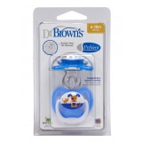 Dr Brown's - PreVent Unique Pacifier S2 (6-18M)