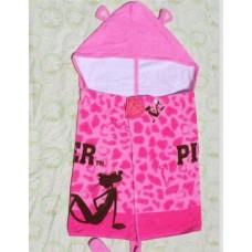 Adorable - Cute Animal Bath Towel *Pink Panther*