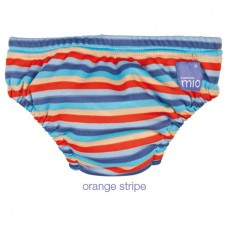 Bambino Mio - Swim Nappy *Orange Stripe*