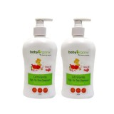 Baby Organix - ExtraGentle TTT Cleanser (400ml) *Rose Oil* TWIN PACK