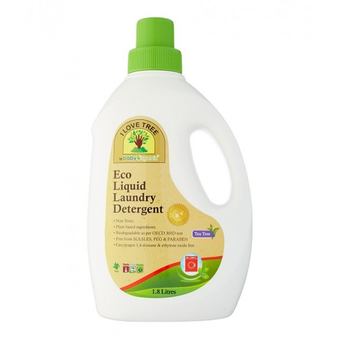 Baby Organix Eco Liquid Laundry Detergent 1800ml