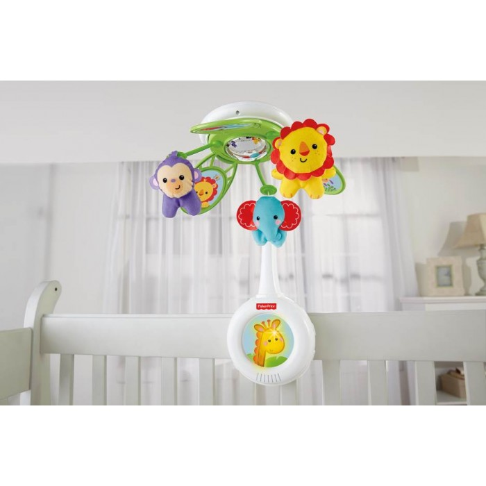 Fisher Price Newborn Fantastic Musical Mobile Rainforest