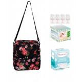 Autumnz - Posh Cooler Bag Complete Set (4 btls) - English Rose Black