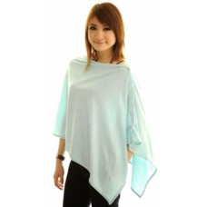 Autumnz Nursing Poncho - Blooming Blue