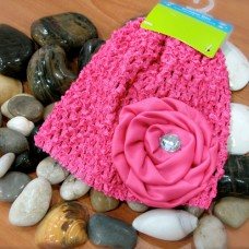 Bumble Bee - Crochet Hat *Hot Pink*