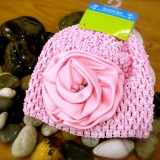 Bumble Bee - Crochet Hat *Baby Pink*