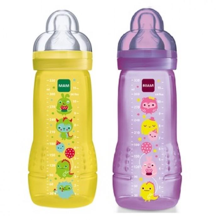 Mam Baby Bottle 330ml Bpa Free Twin Pack Best Buy