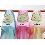 Adorable - Bamboo Hooded Towel *FROG* (1pc)