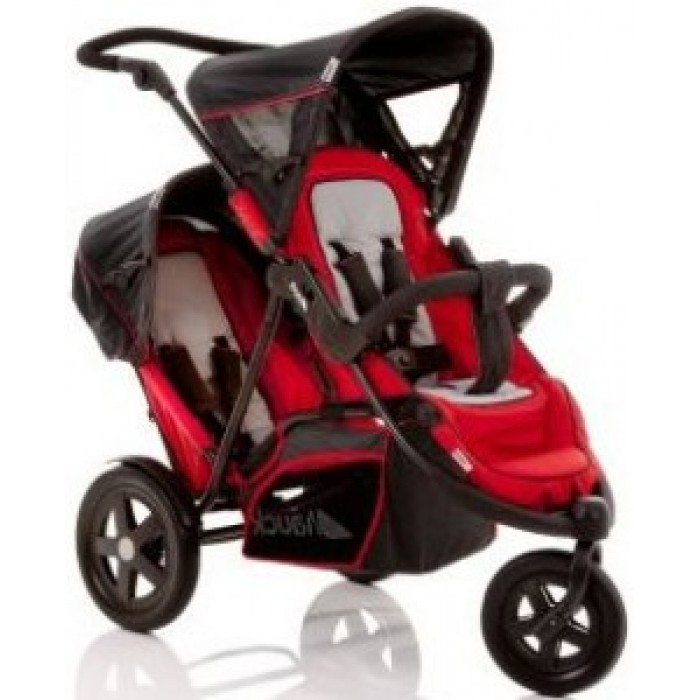Hauck Freerider Single Twin Stroller Red