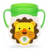 Edison - Non-Spill Trainer Straw Cup *Lion*