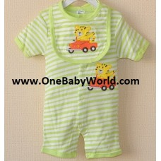 Adorable Wear (SS)- Tiger On The Ride *Green*