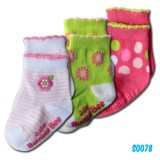 Bumble Bee - Spring Daisy Socks (3 pair)