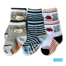 Bumble Bee - Animal Friends Socks (3 pair)