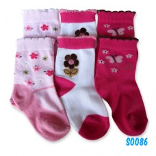 Bumble Bee - Butterfly Love Flower Socks (3 pair)