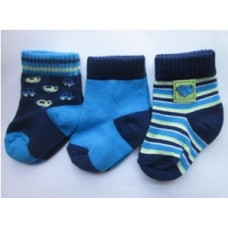Bumble Bee - Boy Plane Socks (3 Pairs)
