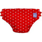Bambino Mio - Swim Nappy *Red Polka Dot*