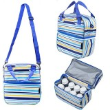 Autumnz - Posh Cooler Bag (Beaming Blue Stripe)