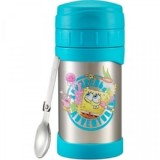 Thermos - 500ml Funtainer *SpongeBob* Insulated Food Jar carried with Folding Spoon JMG-502NICK SB *BEST BUY*