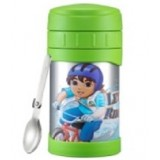 Thermos - 500ml Funtainer *Diego* Insulated Food Jar carried with Folding Spoon JMG-502NICK DG *BEST BUY*