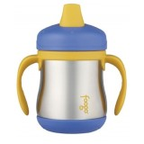 Thermos - Foogo S/S Sippy Cup with Handle 7oz/210ml (Blue) BS500(BL003) *BEST BUY*