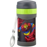 Thermos - 500ml Funtainer *BEN 10* Insulated Food Jar carried with Folding Spoon JMG-502BEN *BEST BUY*