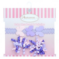 Autumnz - Baby Headband & Hairclips *Flutter*