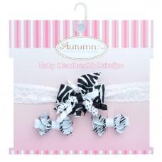 Autumnz - Baby Headband & Hairclips *Diva*