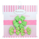 Autumnz - Baby Headband & Hairclips *Cheerful*
