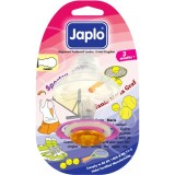 Japlo - Sportswoman Pacifier with Cover (Cherry) 3m+