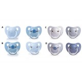 Suavinex - Evolution Soother PP Anat. Sil. Teat +6M 2pcs (Blue)