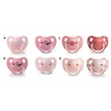Suavinex - Evolution Soother PP Anat. Sil. Teat +6M 2pcs (Pink)