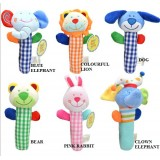 Adorable - *Friends* Animal Squeekie Rattles (Design B)