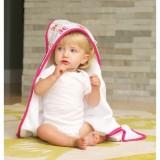 JJ Cole - Hooded Towel (Pink Butterfly)