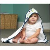 JJ Cole - Hooded Towel (White Vroom)